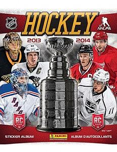 2013-14 Panini NHL Album Stickers Book