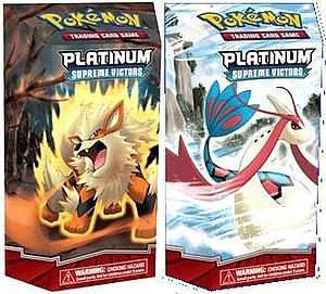 Pokemon Trading Card Game Platinum Supreme Victors Theme Deck