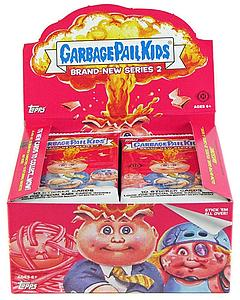 Garbage Pail Kids Brand-New Series 2 Trading Cards: Booster Box (24 Packs)