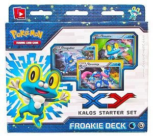 Pokemon Trading Card Game X & Y Starter Sets: Froakie Deck