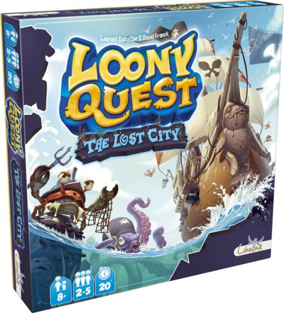 Loony Quest: The Lost City (in French)