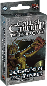 Call of Cthulhu: The Card Game - Initiations of the Favored Asylum Pack