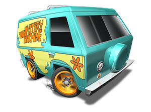Hot Wheels HW City Die-Cast: The Mystery Machine (84/250)