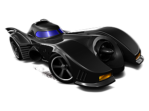 Hot Wheels HW Imagination Die-Cast: '89 Batmobile (61/250)