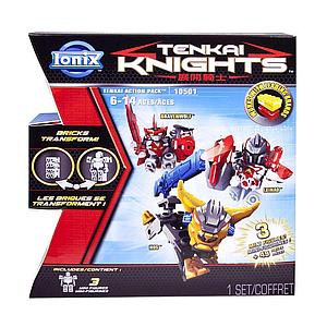 Ionix Tenkai Knights Set: 3-Pack (Bravenwolf/Leinad/Hos)