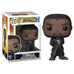 Pop! Marvel Black Panther Vinyl Bobble-Head T'Challa #351
