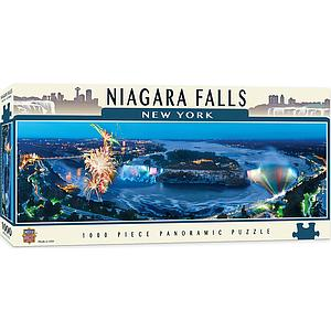 Panoramic Puzzle: Niagara Falls New York