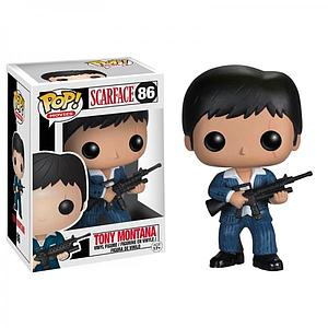 Pop! Movies Scarface Vinyl Figure Tony Montana #86 (Vaulted)