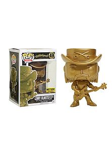 Pop! Rocks Motorhead Vinyl Figure Lemmy Kilmister (Gold) #49 Hot Topic Exclusive (Only 5000 Made)