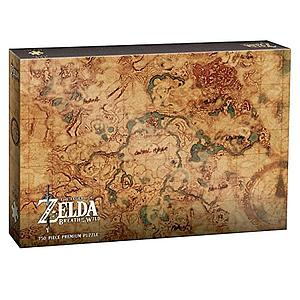 "Puzzle: The Legend of Zelda - Breath of the Wild ""Hyrule World Map"""