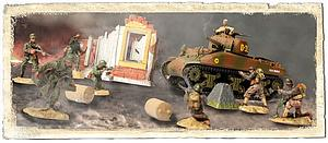 U.S. M4A1 Sherman & Soldiers Set (85091)