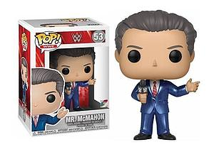 Pop! WWE Vinyl Figure Mr. McMahon #53