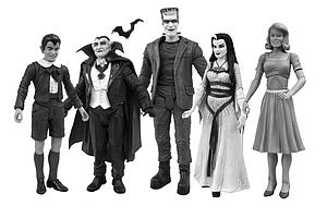 The Munsters: Black & White Set