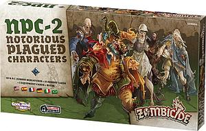 Zombicide: NPC-2 Notorious Plagued Characters