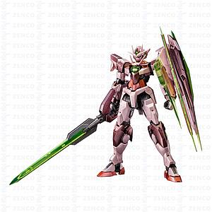 Gundam Master Grade Gundam 00 1/100 Scale Model Kit: 00 Qan(t) (Trans-Am Mode) (Special Coating)