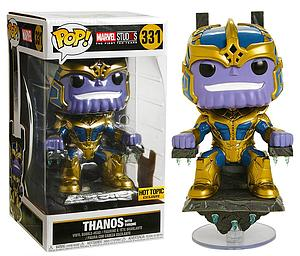 "Pop! Marvel Vinyl Bobble-Head 6"" Thanos with Throne #331 Hot Topic Exclusive"