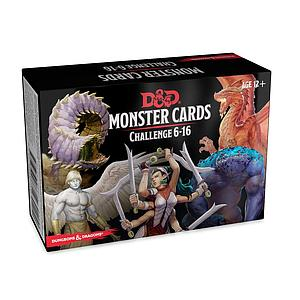 Dungeons & Dragons: Monster Cards Challenge 6-16