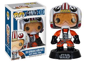 Pop! Star Wars Vinyl Bobble-Head Luke Skywalker X-Wing Pilot #17 (Vaulted)