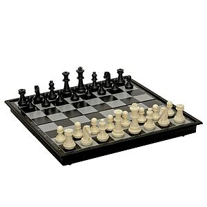 Magnetic Folding Chess Set - 8 inches
