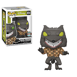 Pop! Disney Nightmare Before Christmas Vinyl Figure Wolfman #454 Specialty Series Exclusive (No Sticker)