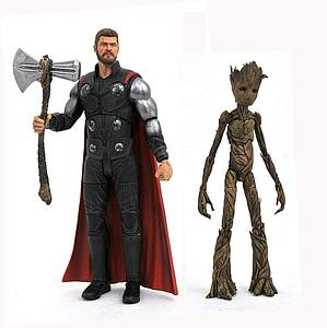 Marvel Select: Thor & Groot