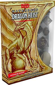 Dungeons & Dragons Roleplaying Game: Waterdeep - Dragon Heist Dice Set