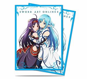 Sword Art Online II - Yuuki & Asuna Standard Card Sleeves (66mm x 91mm)