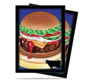 Burger Standard Card Sleeves (66mm x 91mm)