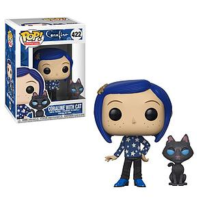 Pop! Animation Coraline Vinyl Figure Coraline with Cat #422