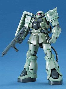 Gundam Master Grade 1/100 Scale Model Kit: MS-06F-2 ZAKU II F2