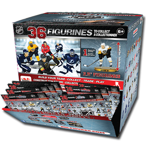 "NHL 2.5"" Figure Blind Box: Display (20 Packs) 2018-2019"