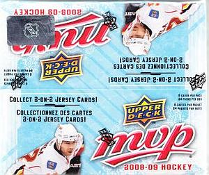 2008-09 NHL Upper Deck MVP Box (24 Packs)