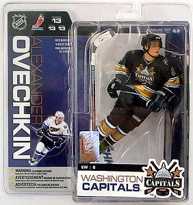 NHL Sportspicks Series 13 Alex Ovechkin (Washington Capitals) Black Jersey Variant