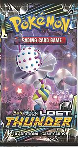Pokemon Trading Card Game: Sun & Moon (SM8) Lost Thunder Booster Pack