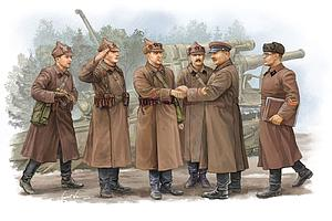 Soviet Artillery – Commander Inspection (00428)