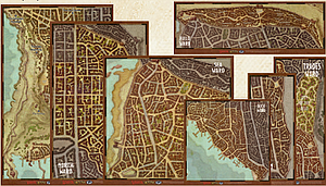 Dungeons & Dragons Roleplaying Game Waterdeep Wards: Map Set