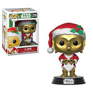 Pop! Star Wars Holiday Vinyl Bobble-Head C-3PO #276