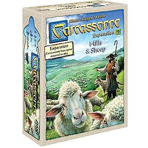 Carcassonne: Expansion 9 - Hills & Sheep