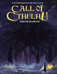 Call of Cthulhu: 7th Edition Keeper Rulebook