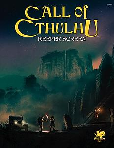 Call of Cthulhu: 7th Edition Keeper Screen