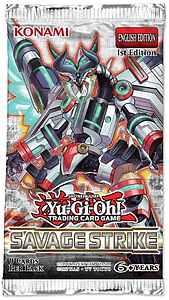 YuGiOh Trading Card Game: Savage Strike Booster Pack