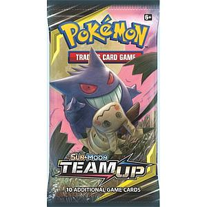 Pokemon Trading Card Game: Sun & Moon (SM9) Team Up Booster Pack