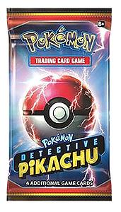 Pokemon Trading Card Game: Detective Pikachu Booster Pack