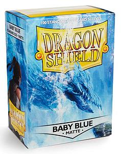 Dragon Shield Sleeves Standard Size: Baby Blue Matte