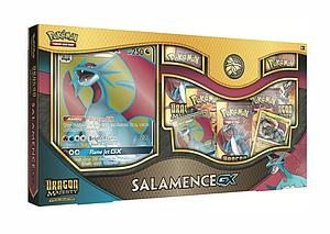 Pokemon Trading Card Game: Dragon Majesty Salamence / White Kyurem Special Collection Salamence GX