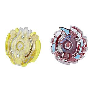 Beyblade Burst Evolution Dual Pack: Orpheus O2 (Defense Type) and Unicrest U2 (Attack Type)