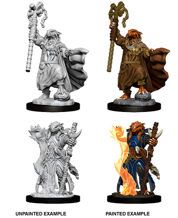 Dungeons & Dragons Nolzur's Marvelous Unpainted Miniatures: Dragonborn Sorcerer (Female)