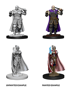 Dungeons & Dragons Nolzur's Marvelous Unpainted Miniatures: Minsc and Delina