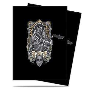 Pro Card Sleeves 100-pack Standard Size: Dungeons & Dragon Ampersand