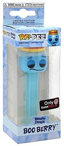 Pop! Pez Candy Dispenser Monster Cereals Boo Berry GameStop Exclusive (EB Games Sticker)
